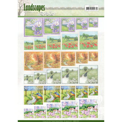 JAMIN10001 – Scenery mini knivellen - Jeanine's Art - Landscapes - vierkant
