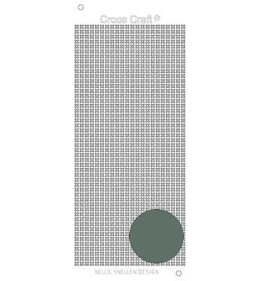 Nellie Snellen – CrossCraft stickers – Mirror silver