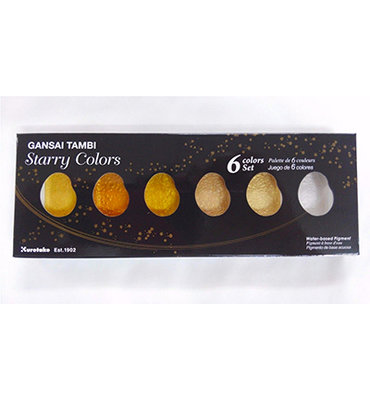 Gansai Tambi Starry Colors, 6 Colors set