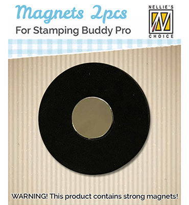 STBM001 - Nellie Snellen - Spare magnets voor Stamping buddy  - 2pcs