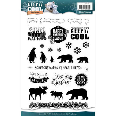 ADCS10056 Clearstamp - Amy Design - Keep it Cool