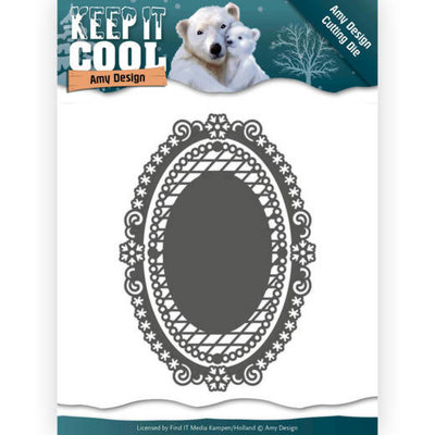 ADD10161 Dies - Amy Design - Keep it Cool - Keep it Oval