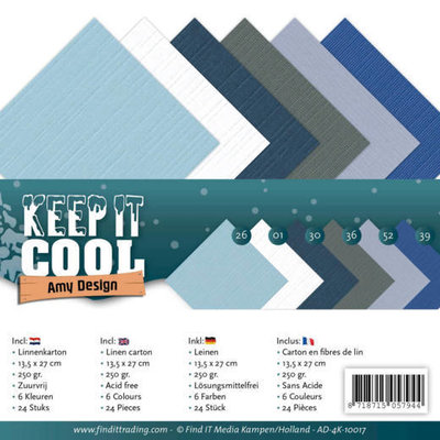 AD-A5-10017 Linnenpakket - A5 - Amy Design - Keep it Cool