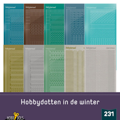 Stickerset Hobbydols 231