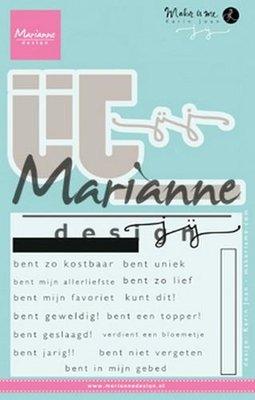 Marianne D Stempel Karin's JIJ (NL) KJ1726 69x57mm