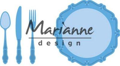 Marianne D Creatable Diner set LR0566 60x60mm – 6x52,5mm