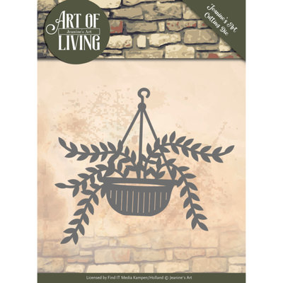 JAD10056 Dies - Jeanine's Art - Art of Living - Hanging Plant