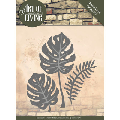 JAD10055 Dies - Jeanine's Art - Art of Living - Leaves