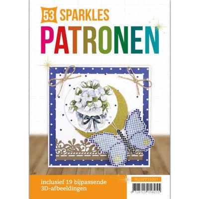 HDSPP10001 Hobbydots Sparkles Patronenboek