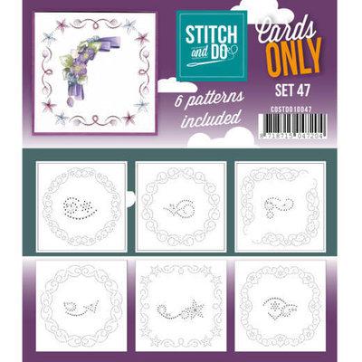 Stitch & Do – Cards Only – Set 47