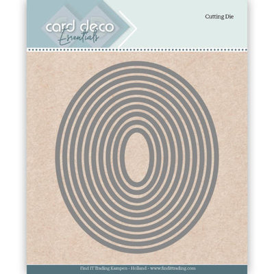 CDECD0021 Card Deco Essentials Cutting Dies Ellipse