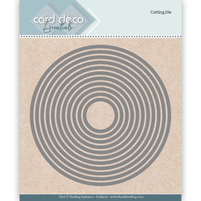 CDECD0020 Card Deco Essentials Cutting Dies Round
