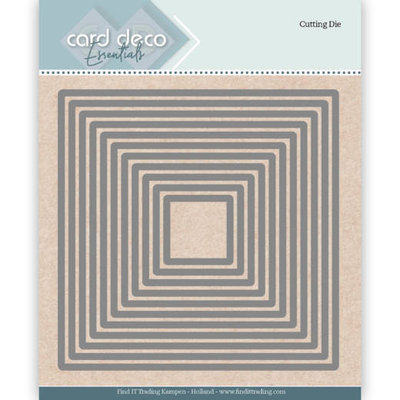 CDECD0022 Card Deco Essentials Cutting Dies Square