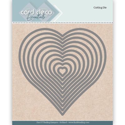 CDECD0024 Card Deco Essentials Cutting Dies Heart