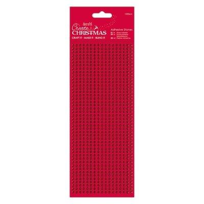 PMA 351903 Papermania – Adhesive Stones (1530pcs) - Red