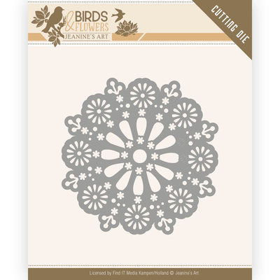 JAD10060 Dies - Jeanine's Art - Birds and Flowers - Daisy Circle -7,4x7,4cm