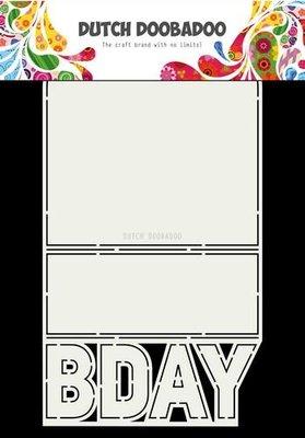 Dutch Doobadoo Dutch Card Art B-day  A4 470.713.698