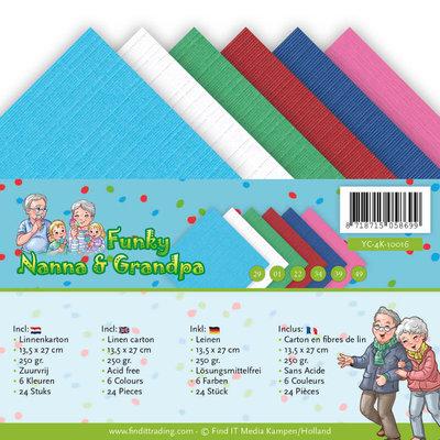 YC-4K-10016 Linnenpakket - 4K - Yvonne Creations - Funky Nanna's