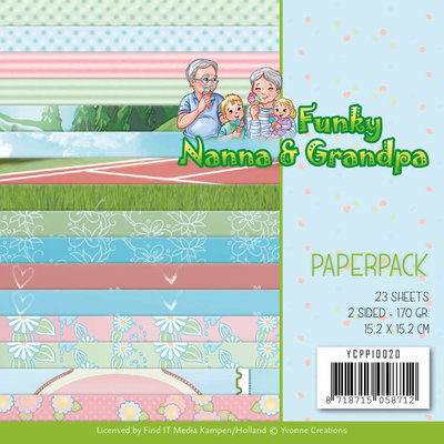 YCPP10020 Paperpack - Yvonne Creations - Funky Nanna's