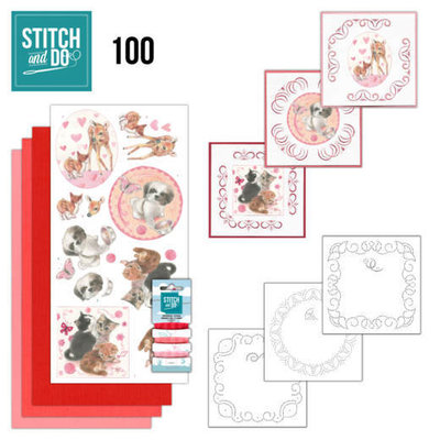 Stitch and Do 100 Playful Pets