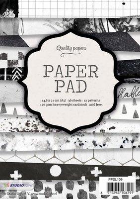 Studio Light Paper Pad A5 36 vel 12 designs nr 109 PPSL109