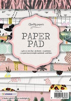 Studio Light Paper Pad A5 36 vel 12 designs nr 106 PPSL106