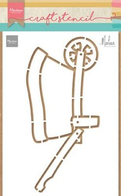 Marianne Design Stencils kruiwagen door Marleen PS8022 21x15cm