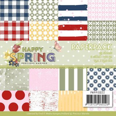 PMPP10022 Paperpack - Precious Marieke - Happy Spring