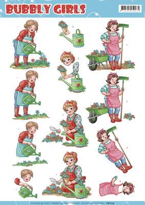 CD11241 3D Knipvel - Yvonne Creations - Bubly Girls Gardening