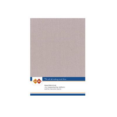50 Card Deco Linnen A5 10 vel Schelproze 240grm