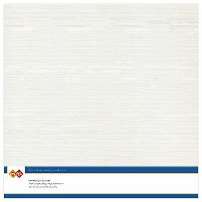 24  Card Deco Linnenkarton - 30,5 x 30,5  Lichtgrijs  10 vel