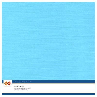 29  Card Deco Linnenkarton - 30,5 x 30,5  Hemelsblauw  10 vel