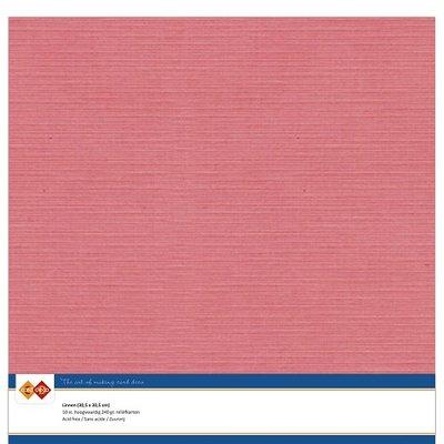 42  Card Deco Linnenkarton - 30,5 x 30,5  Flamingo  10 vel