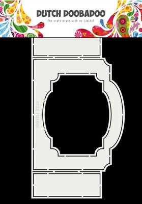 Dutch Doobadoo Fold card art ticket with frame A4 470.713.703