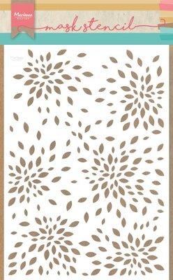 Marianne D stencils Bloemblaadjes PS8026 149x210mm