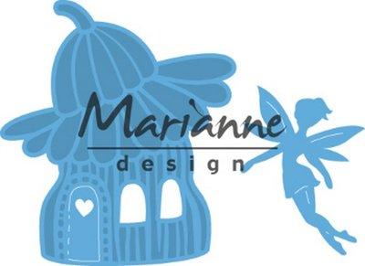 Marianne D Creatable Fairy flower house LR0579 51,5x57,5mm