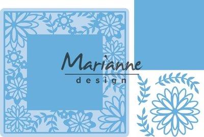 Marianne D Creatable Flower Frame vierkant LR0577 126,6x126,5mm