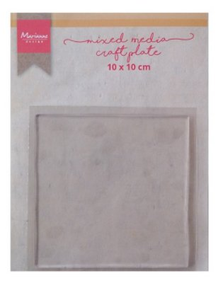 Marianne D Tools MM craft plate vierkant 10 cm LR0017