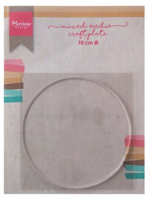 Marianne D Tools MM craft plate cirkel 10 cm LR0016
