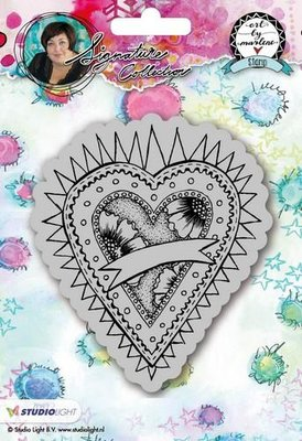 Studio Light Cling Stamp Hearts Art By Marlene 2.0 nr.23 STAMPBM23
