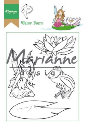 Marianne Design Clear Stamp Hetty's Water Fairy HT1646 15,5 x 10,5 cm