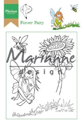 Marianne Design Clear Stamp Hetty's Flower Fairy HT1645 15,5 x 10,5 cm