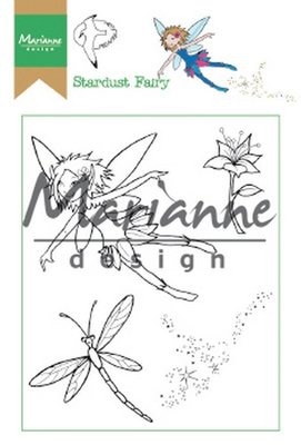 Marianne Design Clear Stamp Hetty's Stardust Fairy HT1644 15,5 x 10,5 cm