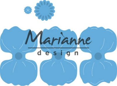 Marianne Design Creatable Klaproos LR0587 35mm