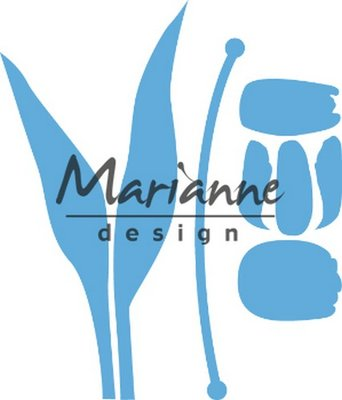 Marianne Design Creatable Build-a-Tulip LR0586 130x50.5mm