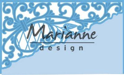 Marianne Design Creatable Anja's swirl hoek LR0584 135x63mm