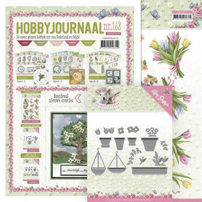 SETHJ168 Hobbyjournaal 168 -SET - ADD10169 - Flowerpots