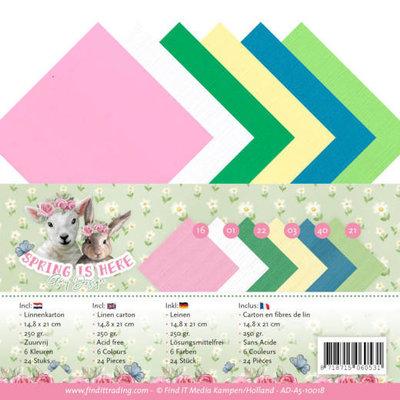 AD-A5-10018 Linnenpakket - A5 - Amy Design - Spring is Here