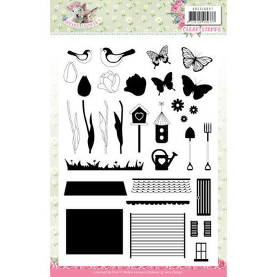 ADCS10057 Clear Stamps - Amy Design - Spring is Here