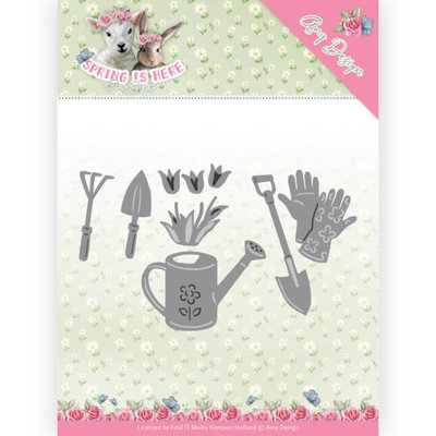 ADD10170 Dies - Amy Design - Spring is Here - Garden Tools